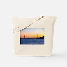 Golden Gate Sunset Tote Bag