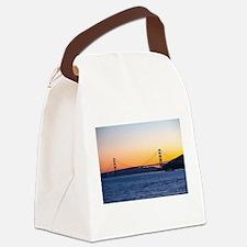 Golden Gate Sunset Canvas Lunch Bag