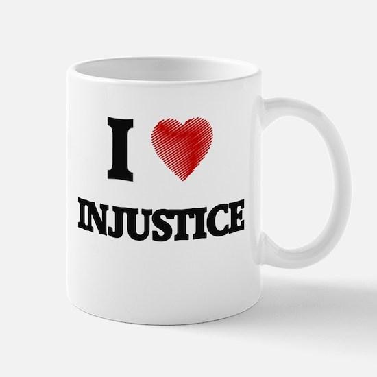 I Love Injustice Mugs