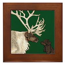 Framed Tile - IWS & Reindeer