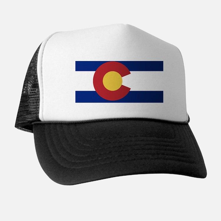 Cute Colorado flag Trucker Hat