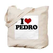 I Love Pedro ~  Tote Bag