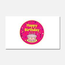 Birthday, Happy Birthday Car Magnet 20 x 12