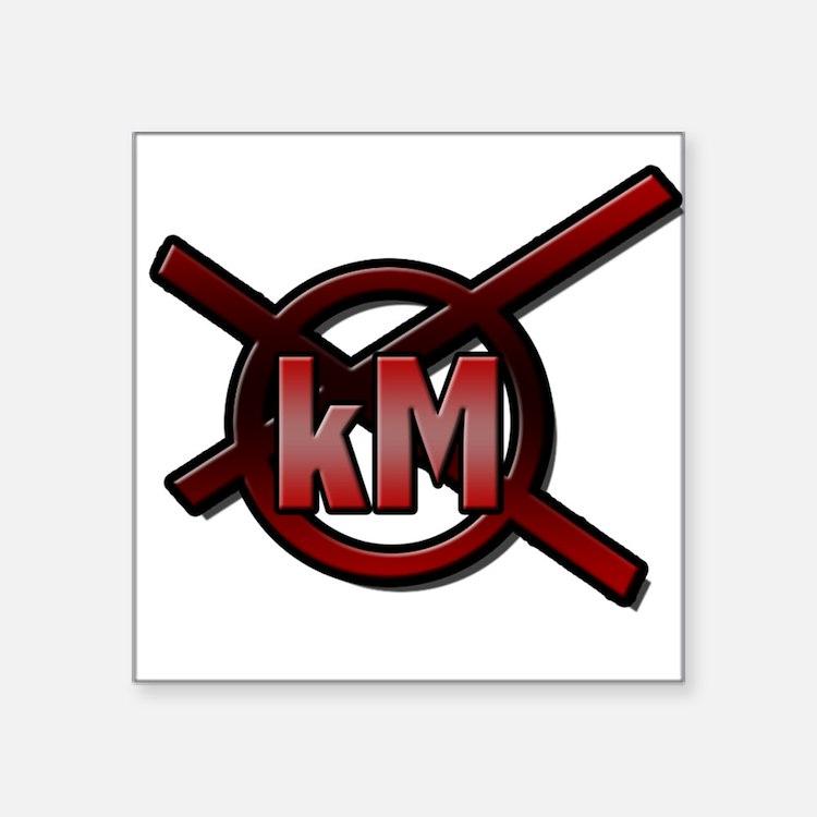 kMx Logo Sticker