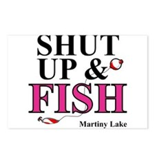 Shut Up & Fish Postcards (Package of 8)