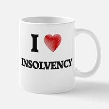 I Love Insolvency Mugs