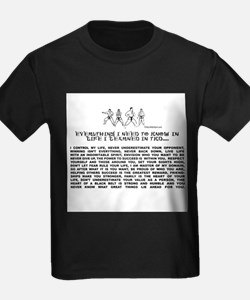 everything I need to know in life-TKD T-Shirt