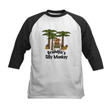 Grandpa's Silly Monkey Girl Tee