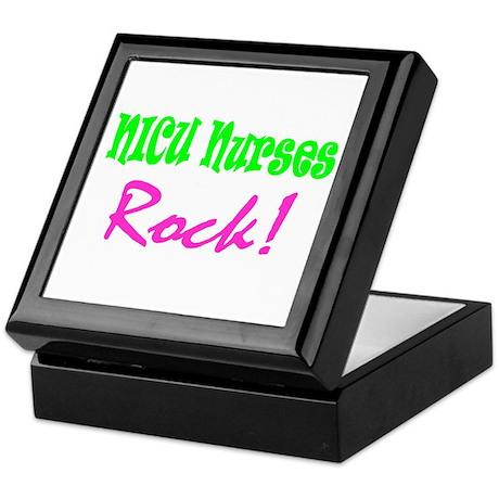 NICU Nurses Rock! Keepsake Box