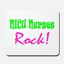 NICU Nurses Rock! Mousepad