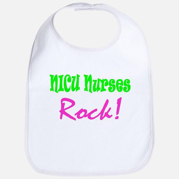 NICU Nurses Rock! Bib
