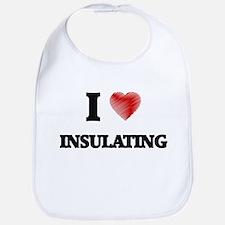 I Love Insulating Bib
