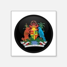 Coat of Arms of grenada Rectangle Sticker