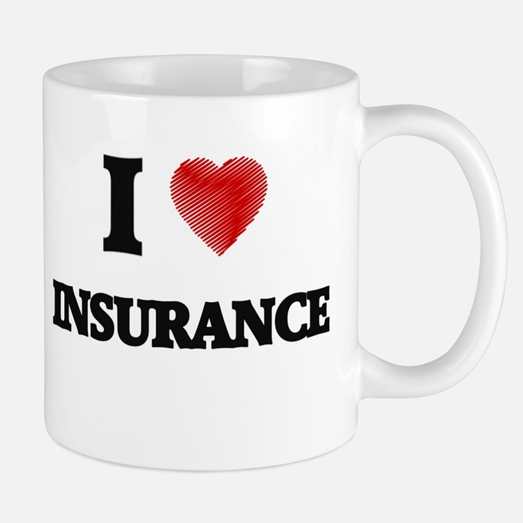 I Love Insurance Mugs