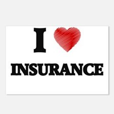 I Love Insurance Postcards (Package of 8)