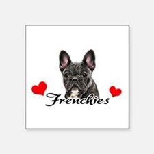 Love Frenchies - Brindle Sticker