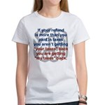 IF YOUR REFUND IS MORE THAN YOU PAID... T-Shirt
