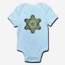 Green Metatron's Cube Body Suit