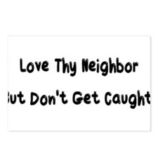 thy neighbor Postcards (Package of 8)