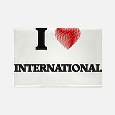 I Love International Magnets