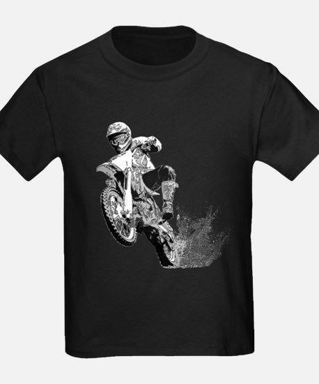 Dirtbike Wheeling in Mud T-Shirt