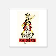 Jackson Raiders Sticker