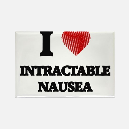 I Love Intractable Nausea Magnets