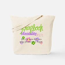 Scrapbook Mentality #271 Tote Bag