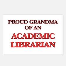 Proud Grandma of a Academ Postcards (Package of 8)