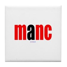 Cute Manchester Tile Coaster