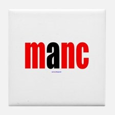 Cute Manchester Tile Coaster