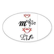 Love Music Love Life Decal