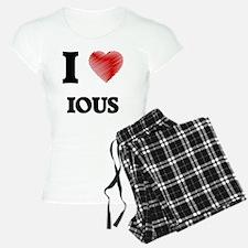 I Love Ious Pajamas