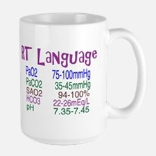 RT LANGUAGE Mugs