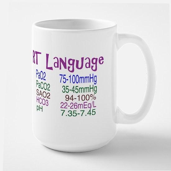 RT LANGUAGE Mugs