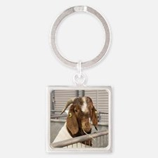 Funny Country fair Square Keychain