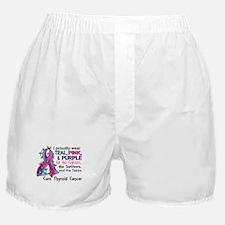 For Fighters Survivors Taken Thyroid Boxer Shorts