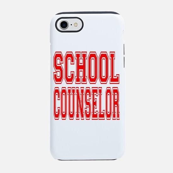 School Counselor iPhone 8/7 Tough Case