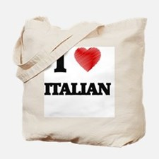 I Love Italian Tote Bag