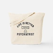 Psychiatrist Designs Tote Bag