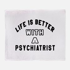 Psychiatrist Designs Throw Blanket