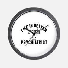 Psychiatrist Designs Wall Clock