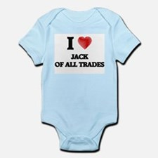 I Love Jack Of All Trades Body Suit