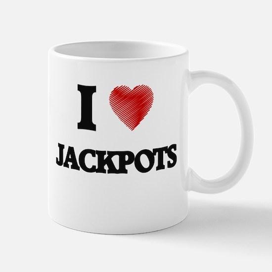 I Love Jackpots Mugs