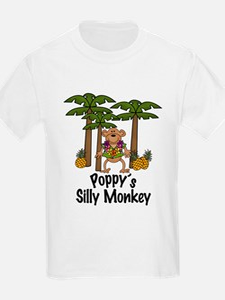 Poppy's Silly Monkey Boy T-Shirt