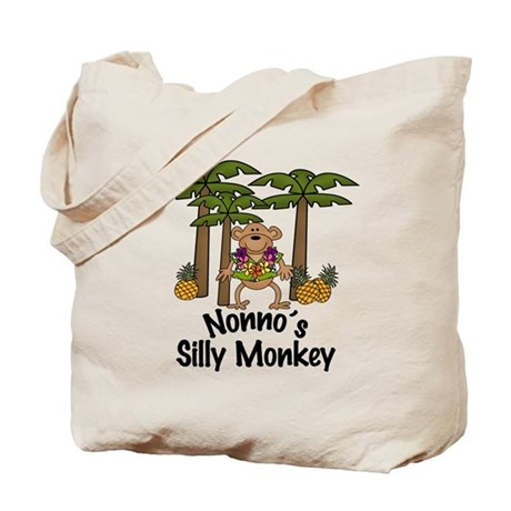 Nonno's Silly Monkey Boy Tote Bag