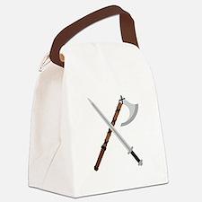 Sword & Axe Canvas Lunch Bag