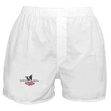 Love Me Boston Terrier Boxer Shorts