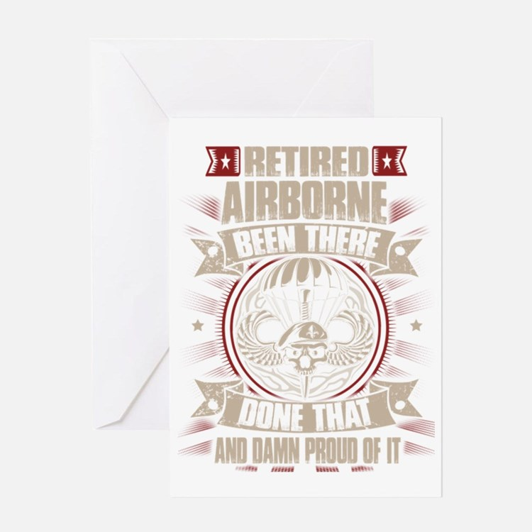 Cute Paratrooper Greeting Card