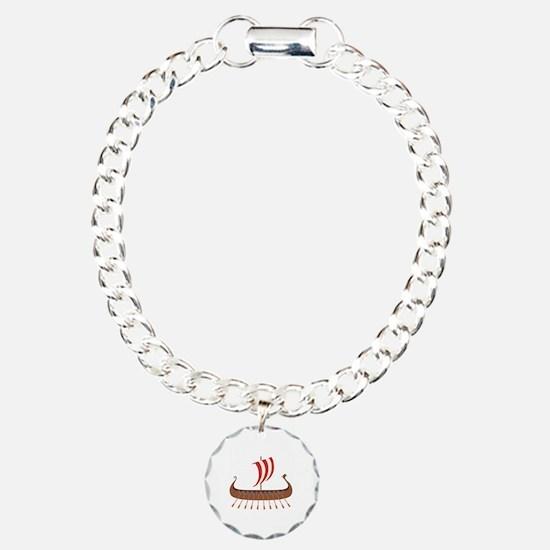 Viking Boat Bracelet